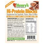 Henrys-Hi-Protein-Blocks-The-Only-Food-for-Squirrels-Flyers-Rats-and-Mice-Baked-Fresh-to-Order-11-ounces-0-0