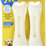 JW-Pet-Company-46132-EverTuff-2-Pack-Bone-Chicken-and-Peanut-Butter-Flavored-Chew-Toy-Pets-Large-White-0