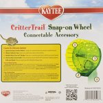 Kaytee-CritterTrail-Snap-On-Comfort-Wheel-Colors-Vary-0-1