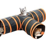 Kitty-Fun-Tunnel-CollapsiblePortable-3-way-Cat-Tunnel-with-Hanging-Ball-for-Cats-Kittens-Rabbits-0-0