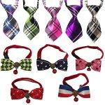 Lebbeen-10pcspackCool-Gentle-Stylish-Adjustable-Pet-Teddy-Cat-Dog-Rabbit-Bow-Ties-Necktie-0
