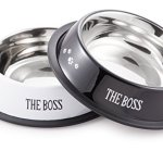 McSunley-852-2-Stainless-Steel-2Piece-No-Skid-Pet-Bowl-Set-0