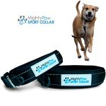 Mighty-Paw-Neoprene-Padded-Dog-Collar-Reflective-Running-Dog-Collar-Premium-Quality-Sports-Collar-Extra-Comfort-for-Active-Dogs-0