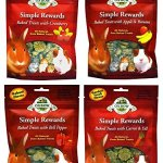 Oxbow-Simple-Rewards-All-Natural-Oven-Baked-Treats-for-Rabbit-Guinea-Pigs-Hamsters-and-Other-Small-Animals-Variety-Pack-4-Flavors-Apple-Banana-Bell-Pepper-Carrot-Dill-and-Cranberry-2-Ounce-Resealable–0