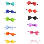 PET-SHOW-Baby-Boys-Girls-Dog-Bow-Ties-Pet-Cat-Bowties-Collar-for-Wedding-Party-Grooming-Accessories-Color-Assorted-Pack-of-12pcs-0