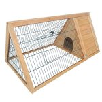 PawHut-46-x-24-Wooden-Portable-A-Frame-Outdoor-Rabbit-Cage-Small-Animal-Hutch-0
