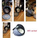 Petneces-Cat-Bed-Cave-with-Cushion-Cat-CarrierCat-Tunnel-Small-Animal-Sleep-Zone-Foldable-Pet-Winter-Play-Tent-for-Home-or-Outdoor-Travel-0-0