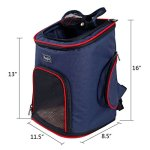 Petsfit-Comfortable-Pet-Carrier-Backpack-for-Small-Dogs-Cats-Rabbits-Soft-Sided-Mesh-Pup-Pack-for-Outdoor-Travelling-Airline-Approved-Dimension-Removable-Fleece-Mat-with-Built-in-Collar-Buckle-0-0