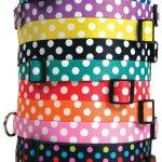 Polka-Dot-Dog-Collar-with-Tag-A-Long-ID-Tag-System-0