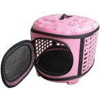 QZBAOSHU-Cat-Carrier-Travel-Kennel-for-Cats-Small-Dogs-Puppies-Rabbits-18LX14WX12H-0-0