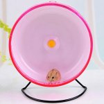 Qin-ChenChen-Hamster-Pet-Exercise-Silent-Wheel-Running-Spinner-Toy-Random-Color-0