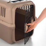 Richell-94915-Mobile-Pet-Carrier-Large-Brown-0-1