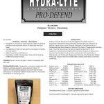Rowe-Hydra-Lyte-Pro-Defend-453gm-0-0