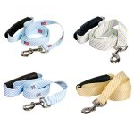 Southern-Dawg-Premium-Dog-Leash-Seersucker-with-Comfort-Grip-Handle-Made-in-The-USA-by-Yellow-Dog-Design-0