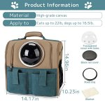 WINGOFFLY-Large-Space-Capsule-Backpack-Breathable-Pet-Carrier-Portable-Cat-Dog-Puppy-Travel-Bag-0-0