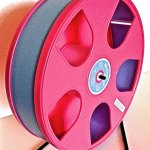 Wodent-Wheel-Sugar-GliderHamster-11-Diameter-w-Safety-Shield-Pink-LT-Blue-Track-0