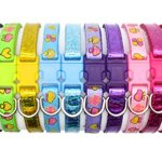 YOY-12-pcsset-Soft-Nylon-Puppy-Whelping-ID-Collars-Adjustable-Reusable-Washable-Baby-Dog-ID-Bands-Pet-Identification-for-Breeders-Neck-8-14-0-0