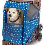 Zuca-ZuZuca-Rolling-Pet-Carrier-Best-In-Show-Insert-Bag-Choose-Your-Frame-Color-0