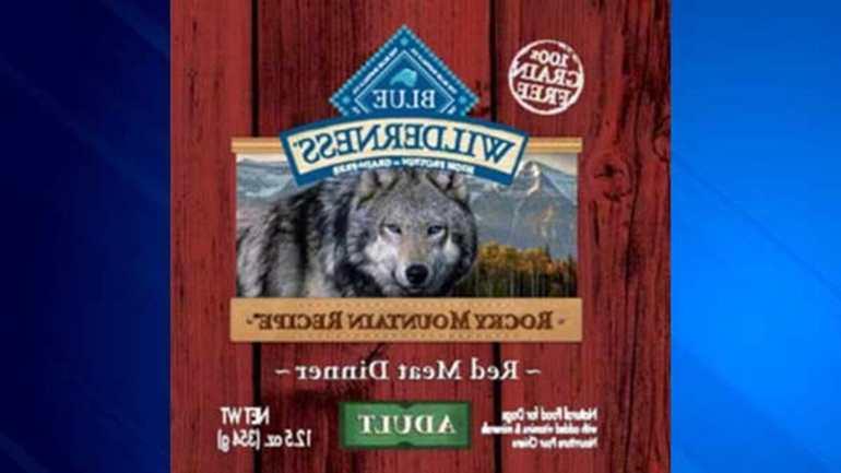 Blue Dog Food Recall