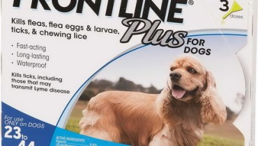 Frontline Plus For Dogs 23 44 Lbs