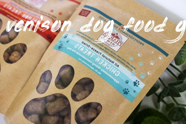 Things you should know venison dog food grain free