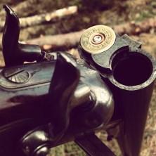 Blank-firing guns. Portrait. Photo: Petter Karlsson