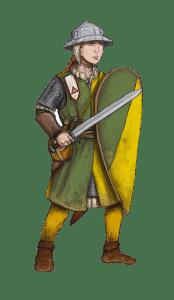 Falcon Hitter from Cordovien. Illustration: Peter Edgar