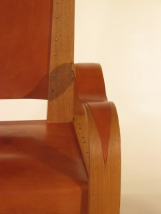 Detail Deco Reading Chair.