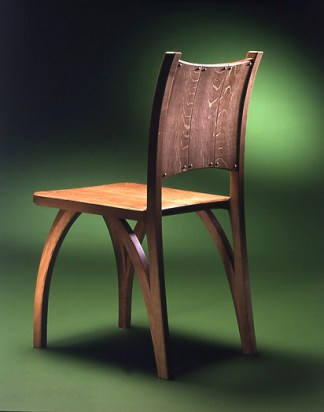 Wishbone Chair from the back