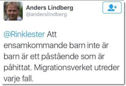 Aftonbladets Anders Lindberg kommer med fakta