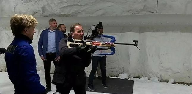 Löfven vapen