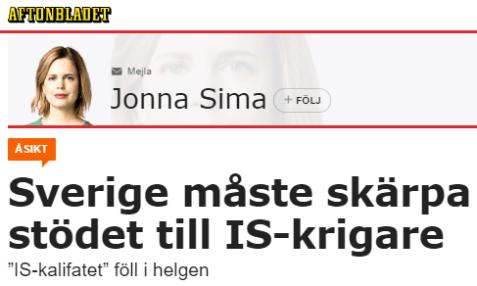 Aftonbladet_Jonna_Simma_stöd_till_IS-terrorister