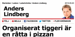 Anders Lindberg Organiserat tiggeri