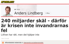 Anders_Lindberg_Inte_invandrarnas_fel