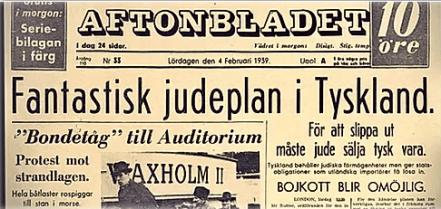 Aftonbladet judepland