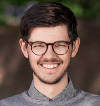 David Ling, språkrör Grön ungdom. Pressbild