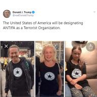 Antifa Greta med familj