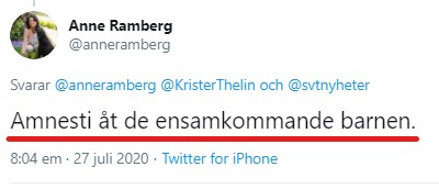 Anne Ramberg barn