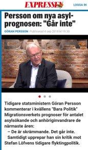 expressen Göran Persson det går inte