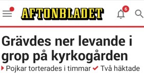 Aftonbladet nedgrävda