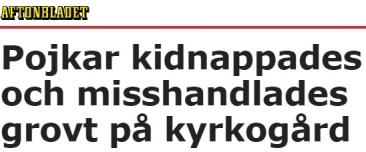 Aftonbladet tortyr kyrkogård