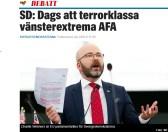 Expressen SD Terrorklassa AFA