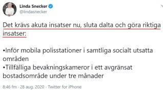 Linda Snecker Sluta Dalta