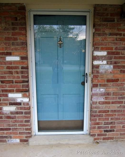 How To Paint Your Front Door Petticoat Junktion Metal Storm