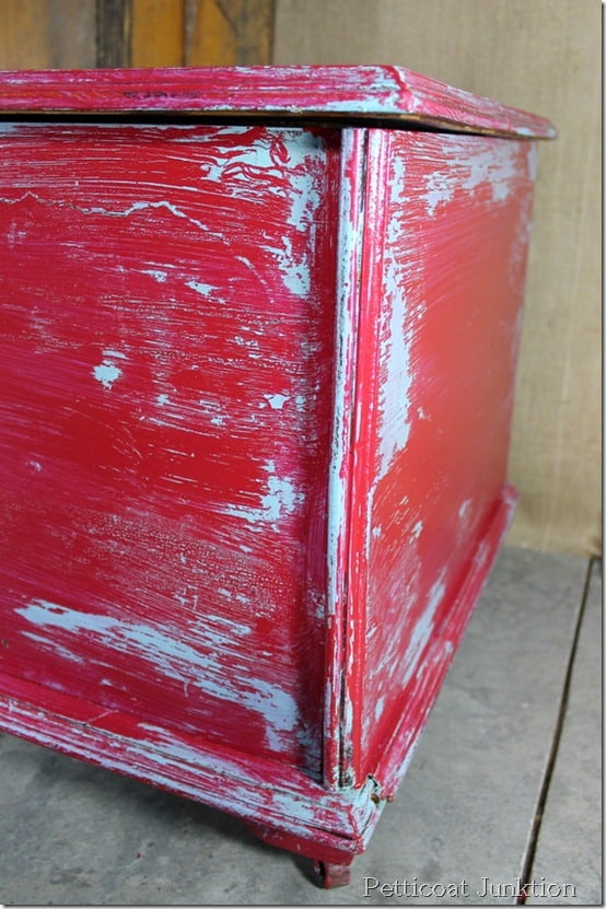 Vaseline Distressed Furniture How To Distress Furniture