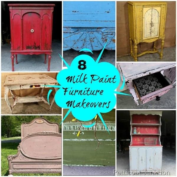 8 Miss Mustard Seeds Milk Paint Furniture Makeovers
