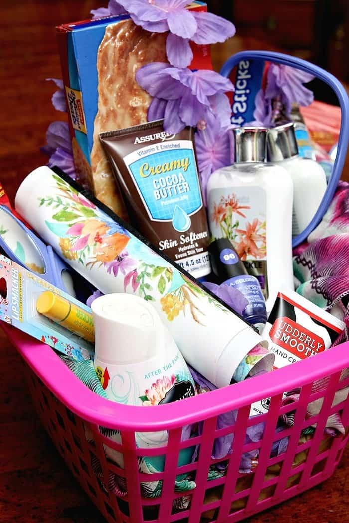 Hug Worthy Dollar Tree Gift Baskets Favorite Things