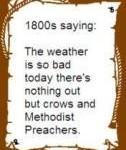 western saying