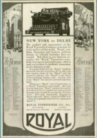1918 ad Royal