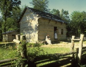 abraham-lincoln-boyhood-log-cabin